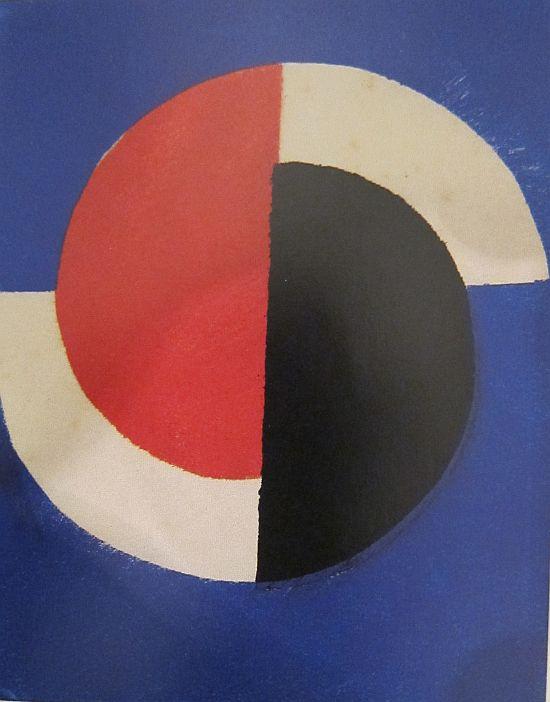 Sonia Delauney, Greeting Card for Galerie Bing, Paris, 1964