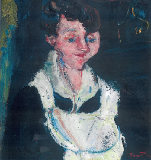 Soutine, La Soubrette (Waiting Maid) 1928-33