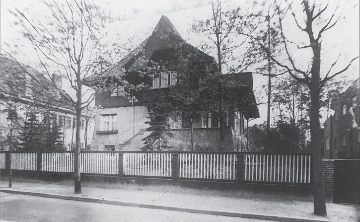 The Kerr home in Berlin