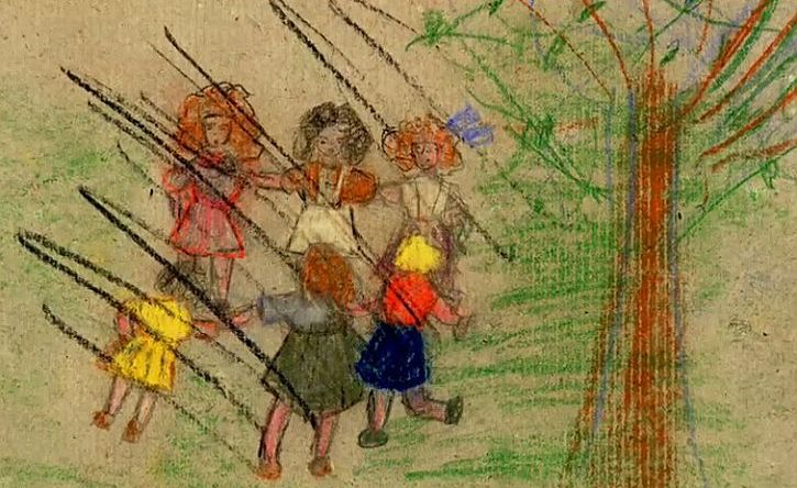 Theresienstadt child's drawing