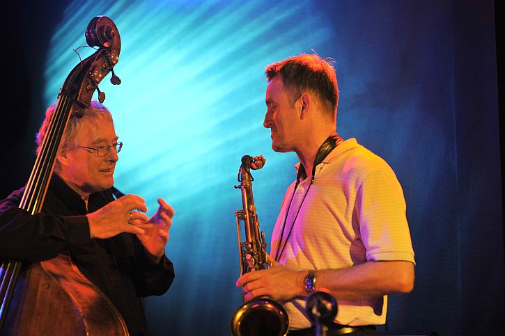 Tommy Smith and Arild Andersen