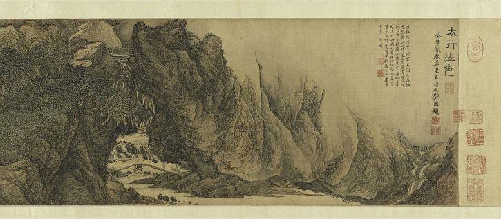 Wang Hui, The Colours of Mount Taihang, 1669