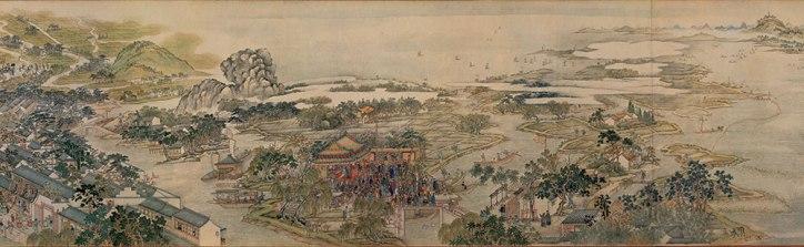 Xu Yang, Prosperous Suzhou, 1759, detail 3