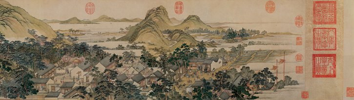 Xu Yang, Prosperous Suzhou, 1759, detail 4