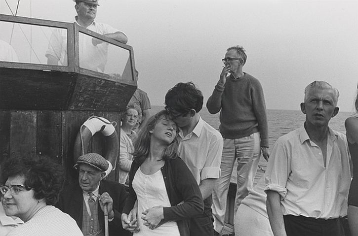 Beachy Head boat trip, 1967 by Tony Ray-Jones