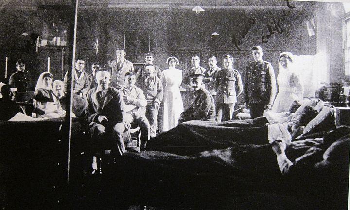 Beaufort War Hospital.