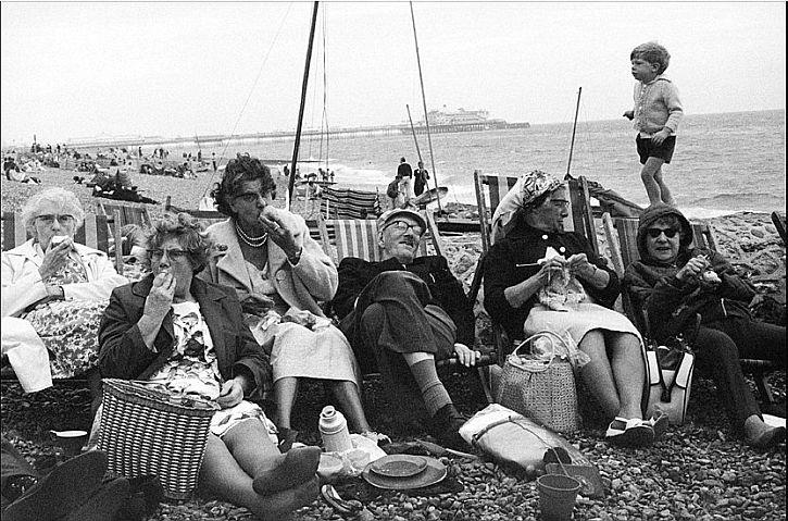 Brighton Beach by Tony Ray-Jones