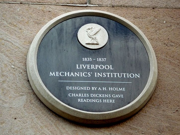 Dickens plaque