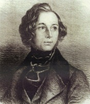 Dickens portrait for Mechanics Institution 1844