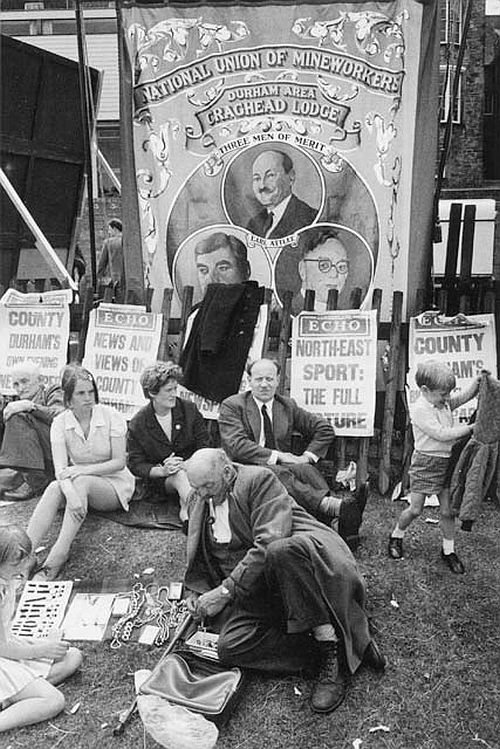 Durham Miners' Gala 1968 by Tony Ray-Jones