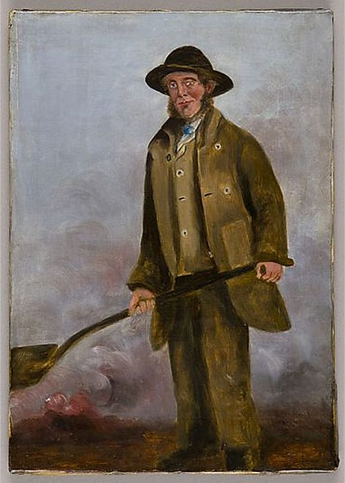 Francis Crawshay Workers Portraits,1835, WJ Chapman David Davies