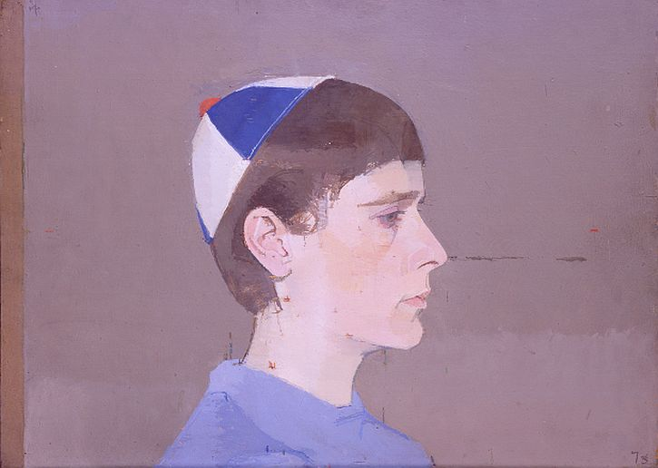 Girls Head in Profile with Cap on, 1963-64