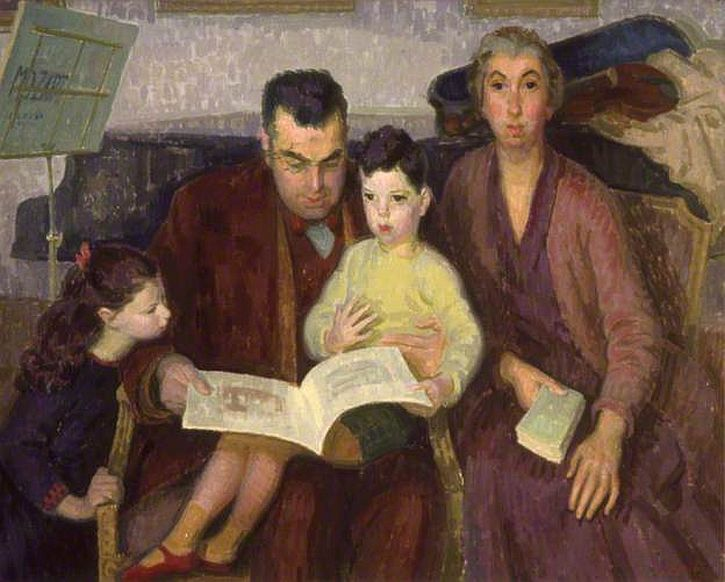 Henry Lamb, The Behrend Family, 1927