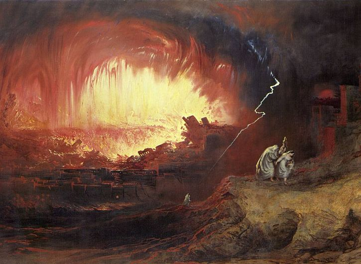 John Martin, The Destruction of Sodom and Gomorrah