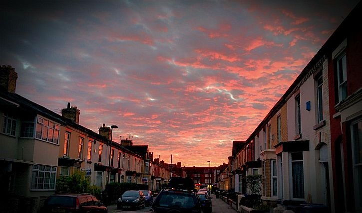 Kenmare Road sunset