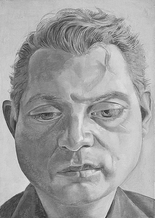 Francis Bacon 1952 by Lucian Freud