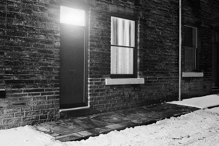 Martin Parr, Hebden Bridge, February. 1978