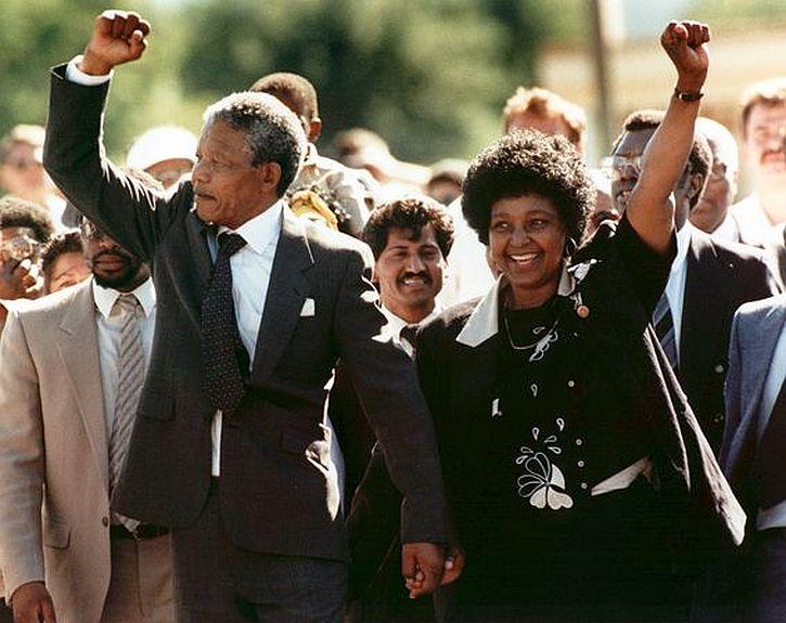 Nelson Mandela released
