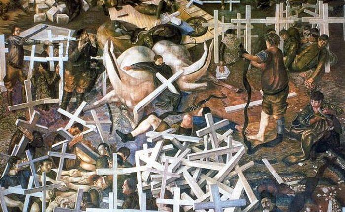 Stanley Spencer's Sandham murals: 'a heaven in a hell ofwar'