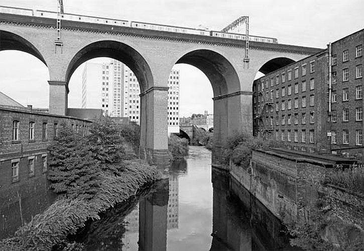 Stockport Viaduct, England, 1986 John Davies