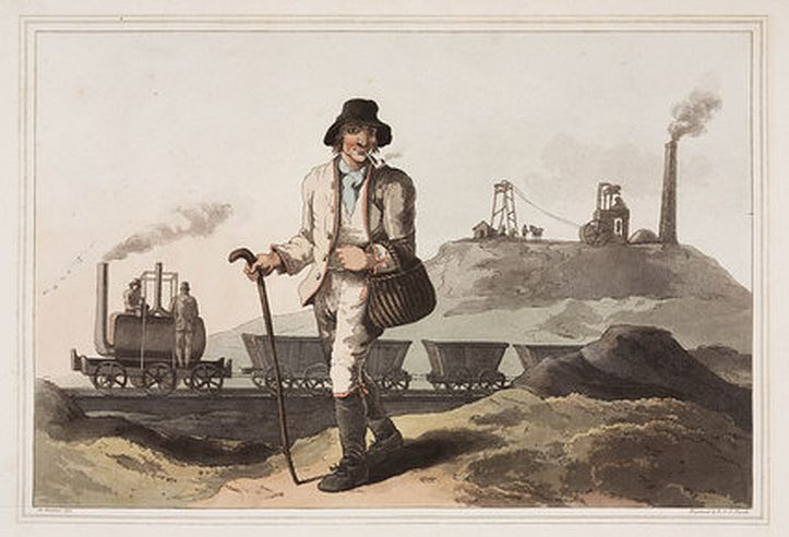 'The Collier', 1814. Havell, Robert