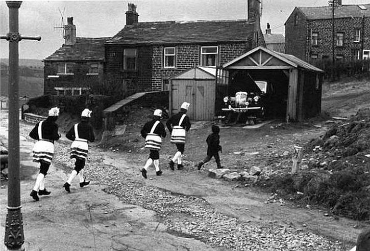 Tony Ray-Jones Bacup Coconut Dancers, 1968