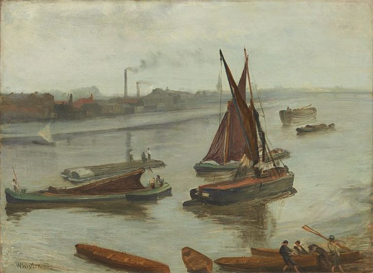 Whistler, Grey and Silver Old Battersea Bridge