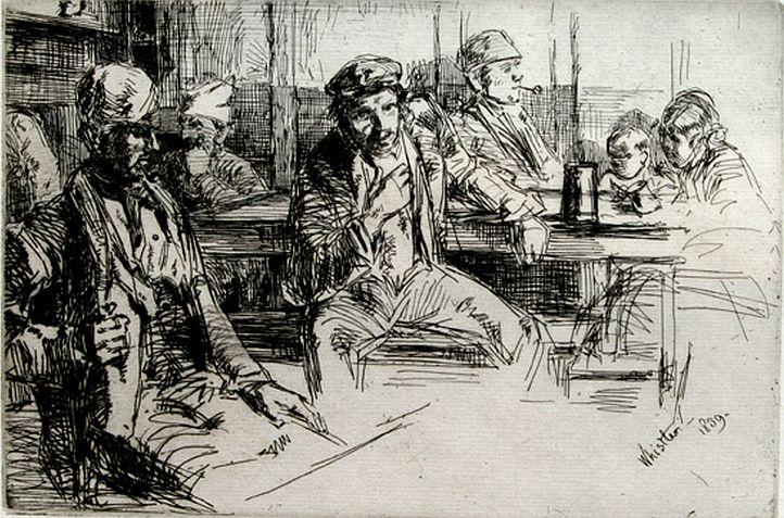 Whistler, Longshoremen, 1859