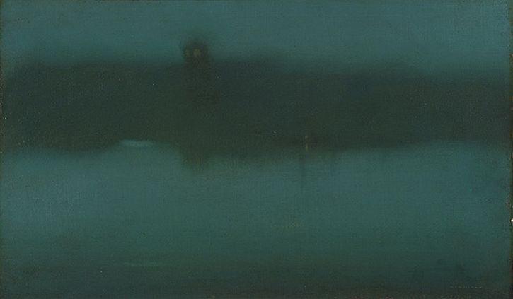 Whistler, Nocturne, 1875