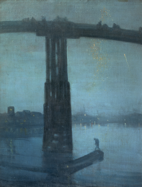 Whistler, Nocturne Blue and Gold -Old Battersea Bridge, 1872-75