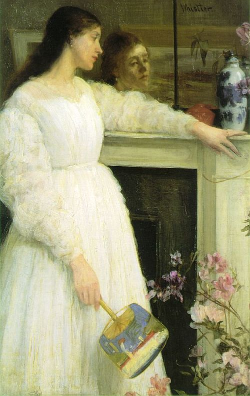 Whistler, Symphony in White, No. 2 The Little White Girl, 1864