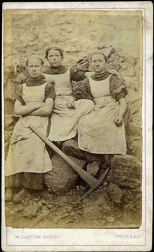 women workers iron works Tredegar 1860s 1
