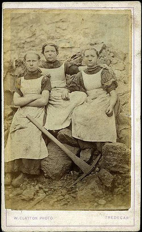 women workers iron works Tredegar 1860s 1