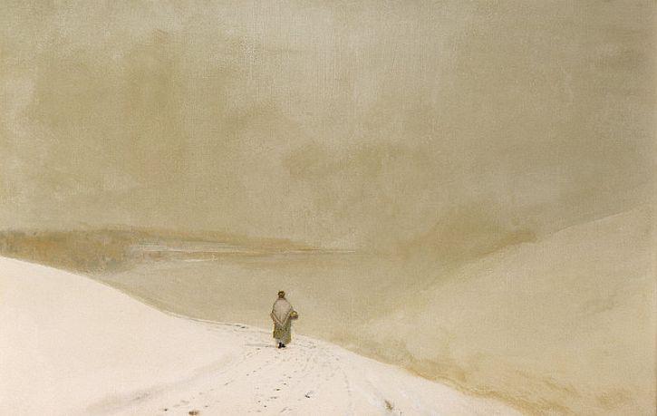 Atkinson Grimshaw, Snow and Mist