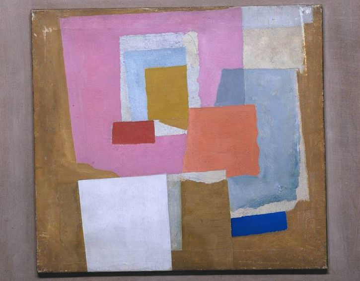 Ben Nicholson, 1924 (first abstract painting, Chelsea)