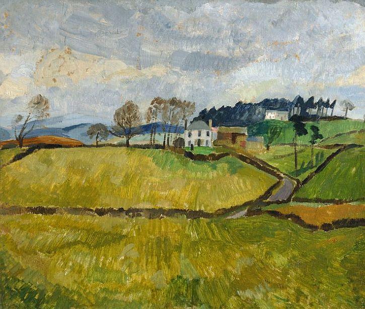 Christopher Wood, Cumberland Landscape (Northrigg Hill), 1928