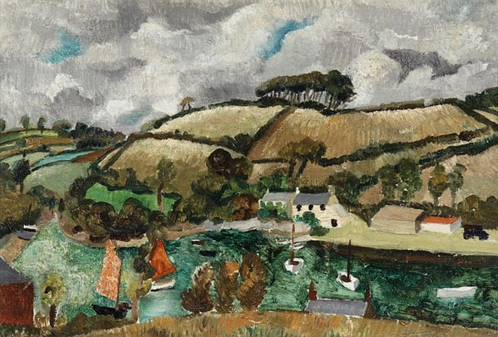 Christopher Wood, Pill Creek, Feock, Cornwall, 1928