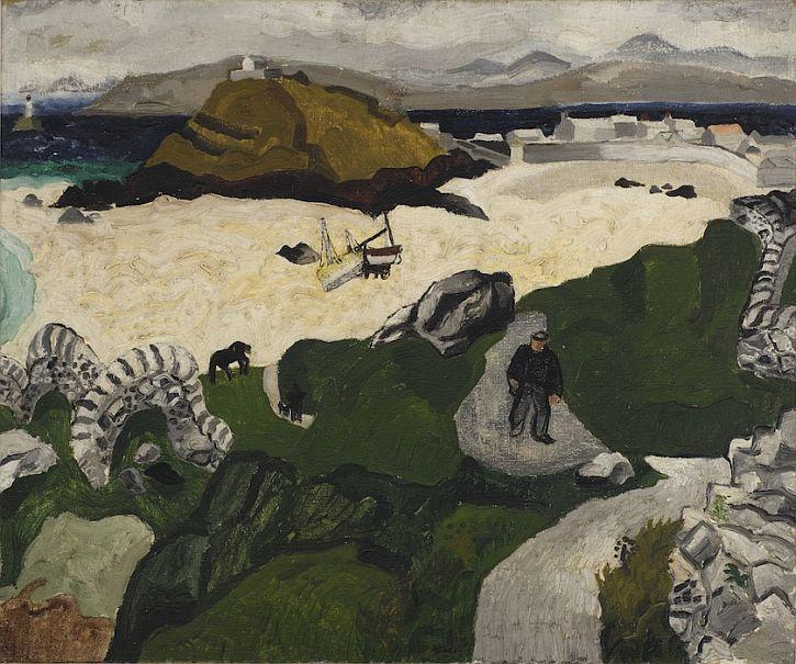 Christopher Wood, Porthmeor Beach, 1928