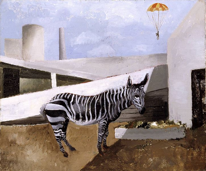 Christopher Wood, Zebra and Parachute, 1930