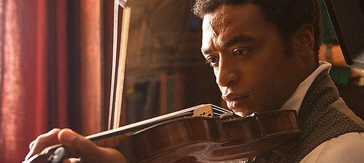 Fiddle player Chiwetel Ejiofor as Northup