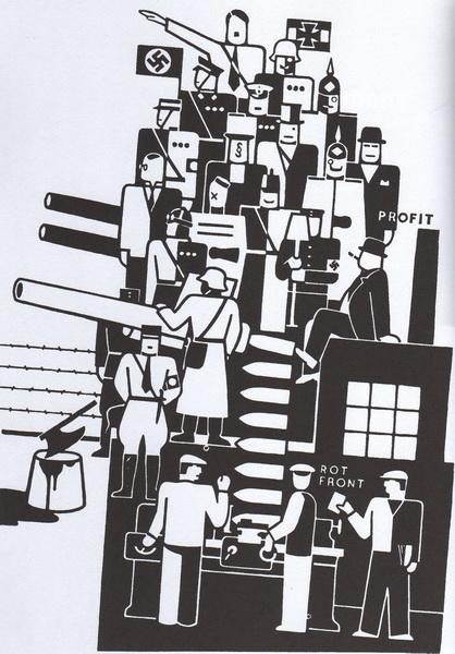 Gerd Arntz, The Third Reich, 1934