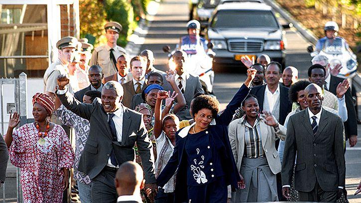 Mandela set free