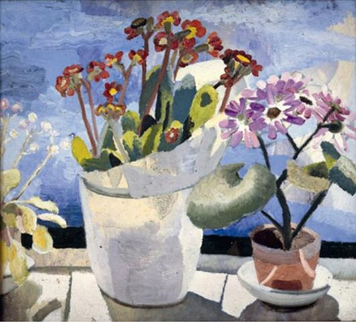 Winifred Nicholson, Polyanthus and Cineraria, 1921