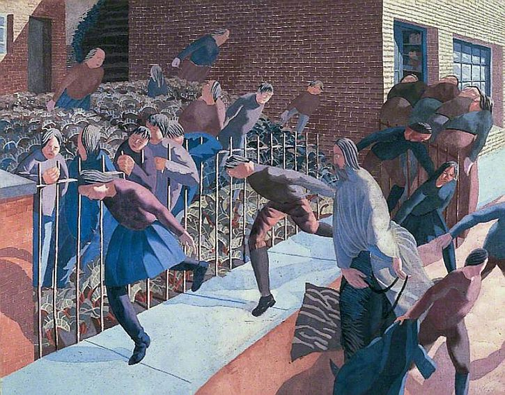 Stanley Spencer, Christ's Entry into Jerusalem, 1920
