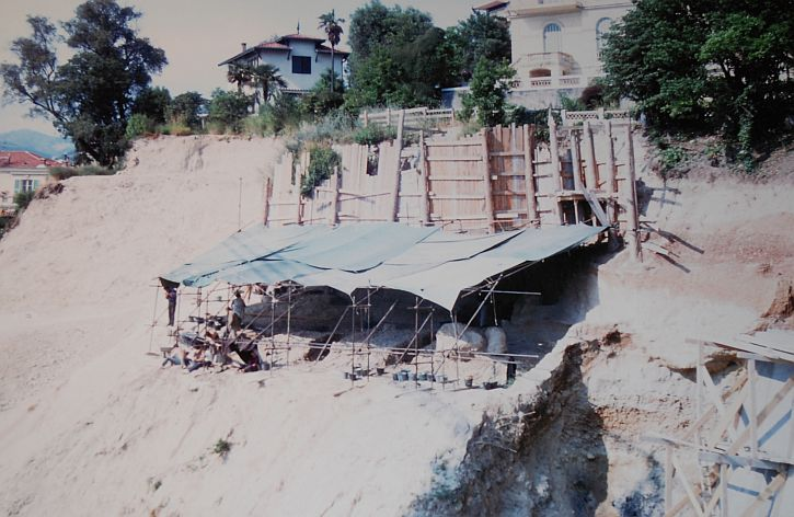 Terra Amata excavation
