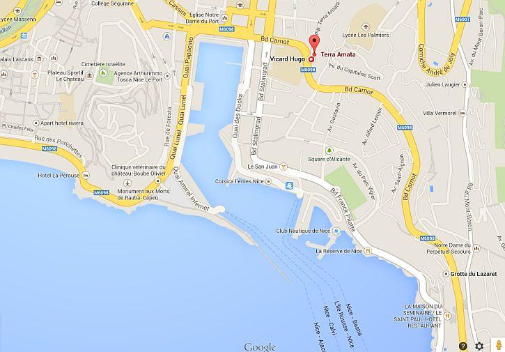 Terra Amata location