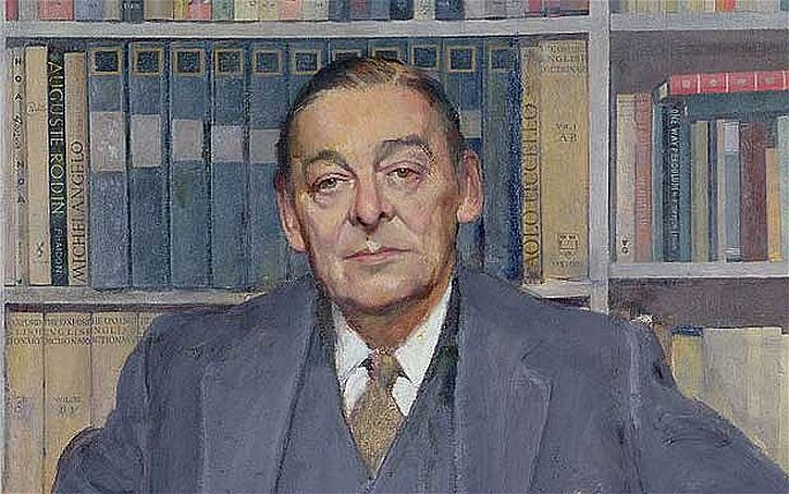 TS Eliot  Gerald Kelly portrait