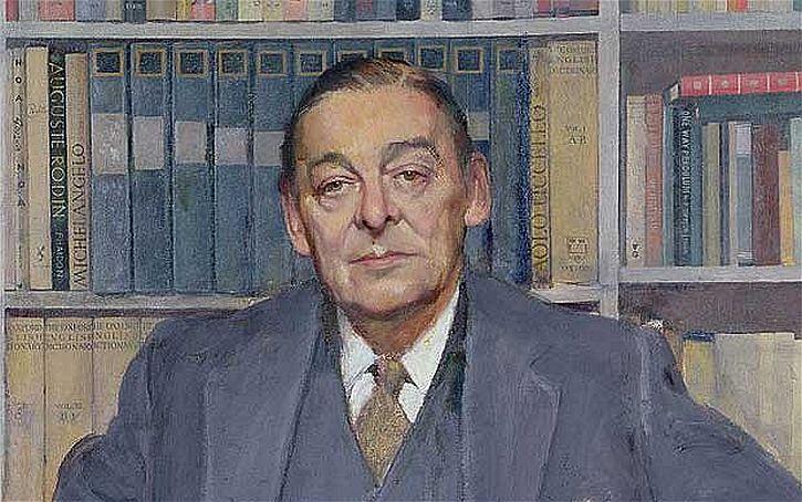 TS Eliot  Gerald Kelly portrait