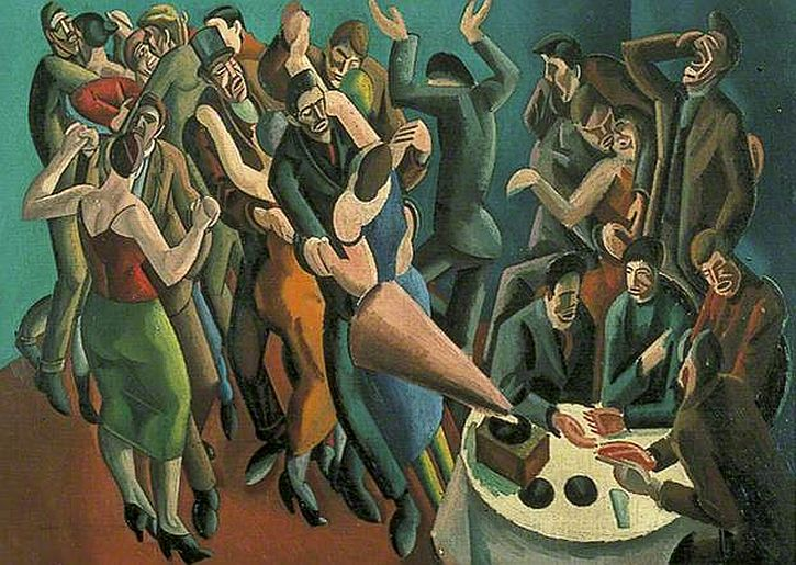 William Roberts, The Dance Club (The Jazz Party), 1923