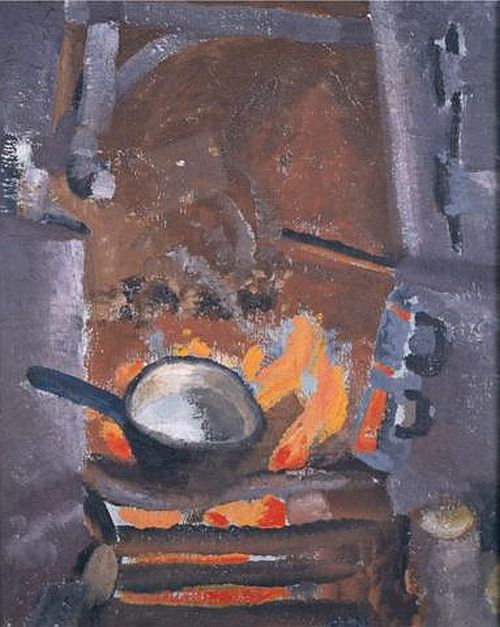 Winifred Nicholson, Fire and Water, 1927